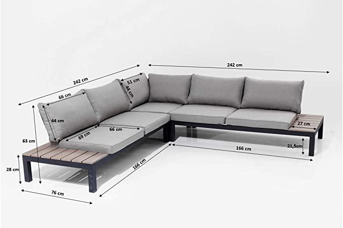 Kare Design Outdoor Sitzgruppe Holiday Loungemobel Outdoorlounge Xxl Lounge Mobel Balkon Gartenmobelsitzgruppe In 2021 Lounge Mobel Balkon Lounge Mobel Ruckenkissen