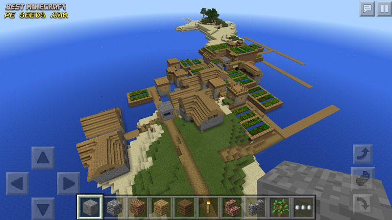 Best Survival Island Seed With Multiple Villages Farms