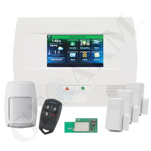 Honeywell l5210 wi fi wireless security system httpgeoarm honeywell phone line voip wireless security system solutioingenieria Image collections