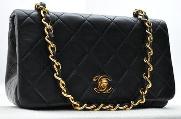 2c417106fe9 Chanel Lamb Skin Mini Matelasse Chain Black Cross Body Bag. Get the  trendiest Cross Body Bag of the season! The Chanel Lamb Skin Mini Matelasse Chain  Black ...