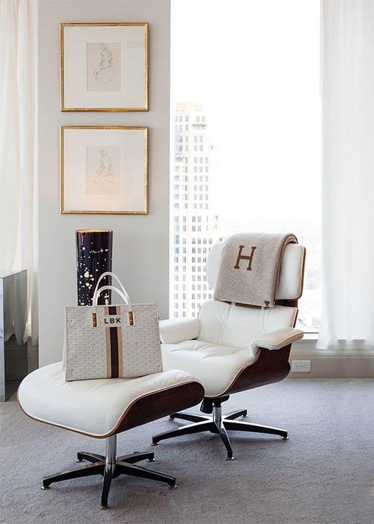 40 Foto\'s waardoor je een Eames Lounge Chair wilt hebben | Lofts and ...