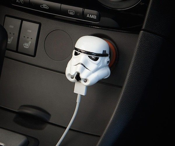 Let the Dark Side power up your gadgets with this Stormtrooper USB Car Charger