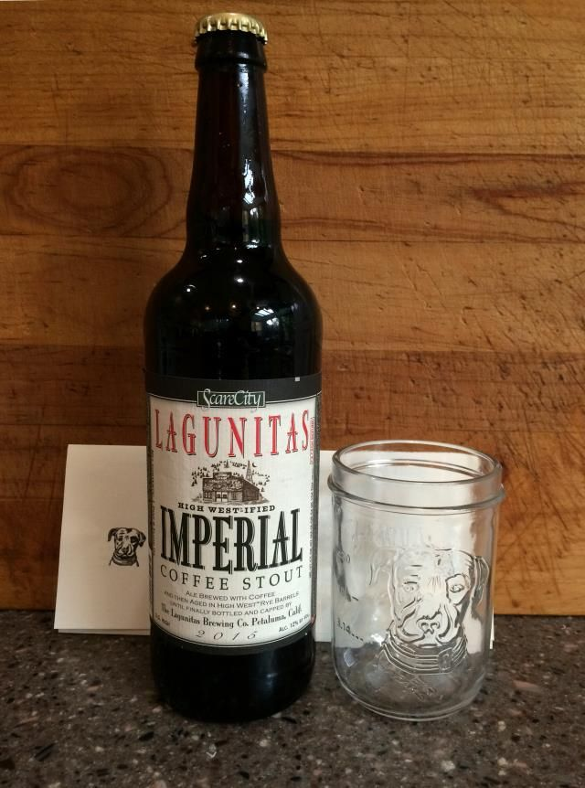 Lagunitas High West Ified Imperial Coffee Stout For Sale. I Have 4 Bottles  Left