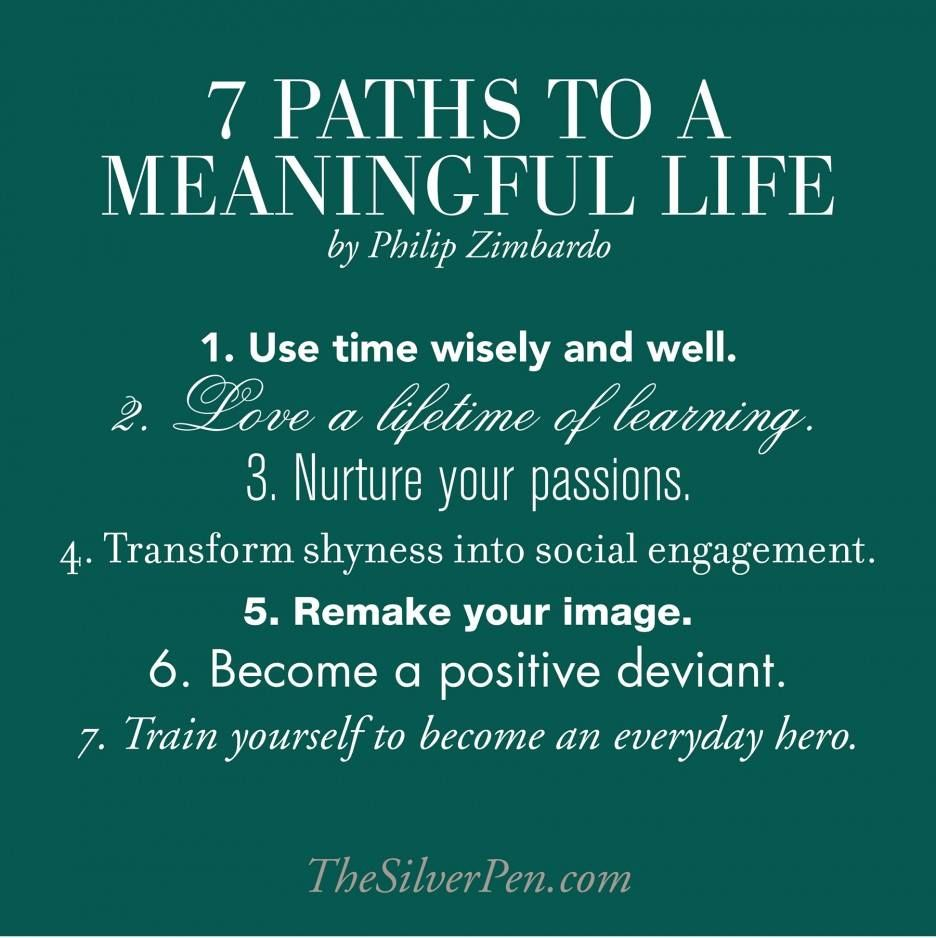 Meaningful Life Quotes Paths To A Meaningful Life Words Of Wisdom  Change Your