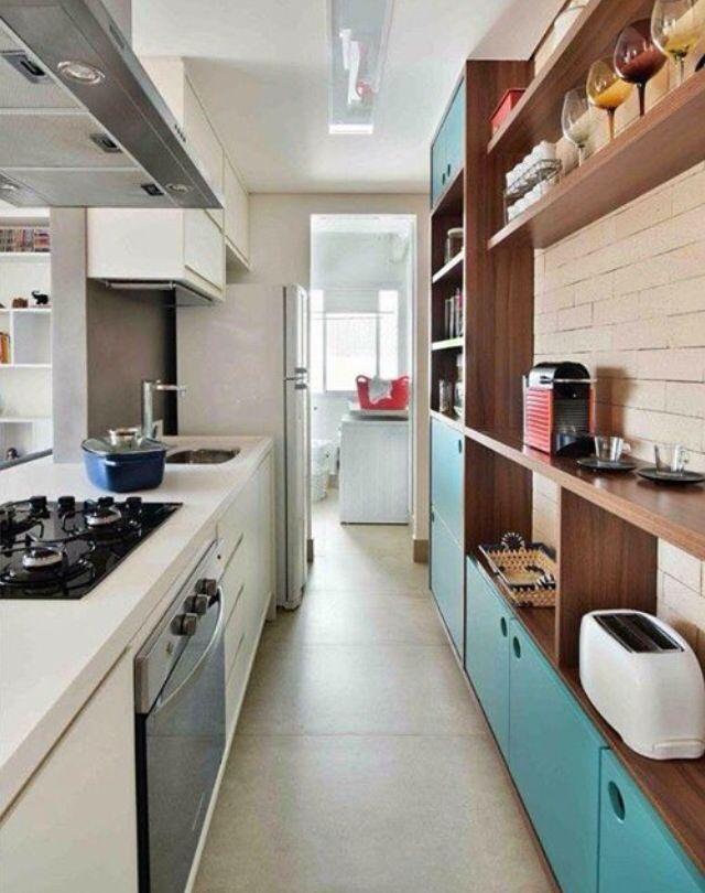 Bien organisée | New house interior | Pinterest | Cocinas, Cocina ...