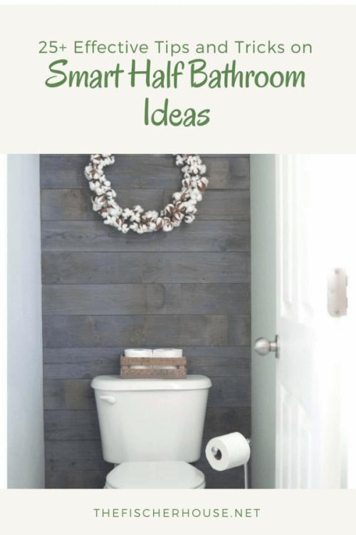 23 Amazing Half Bathroom Ideas To Jazz Up Your Half Bath Half Bathroom Ideas Remodel Half Baths Bathroom Table Half Bath Remodel
