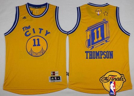fec2ab2b2da ... Stephen Curry White Revolution 30 Swingman Jerseys Shorts NBA Suits  Mens Golden State Warriors 11 Klay Thompson Yellow Hardwood Classics Soul  Swingman ...