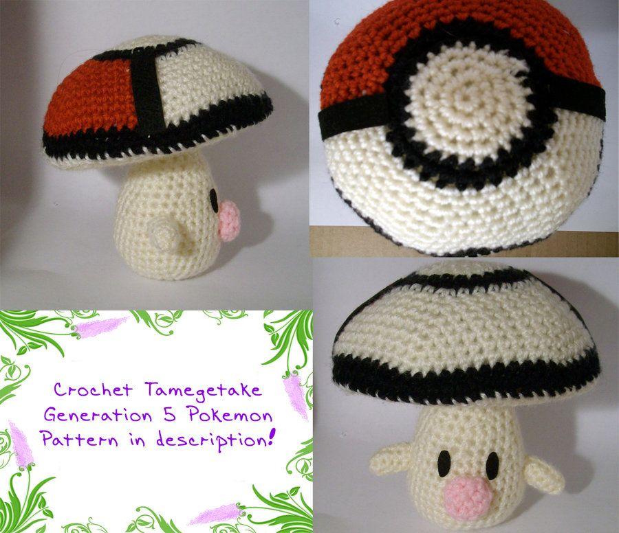 Tamagetake Pokemon Character Amigurumi - Free Pattern   Crochet/Knit ...