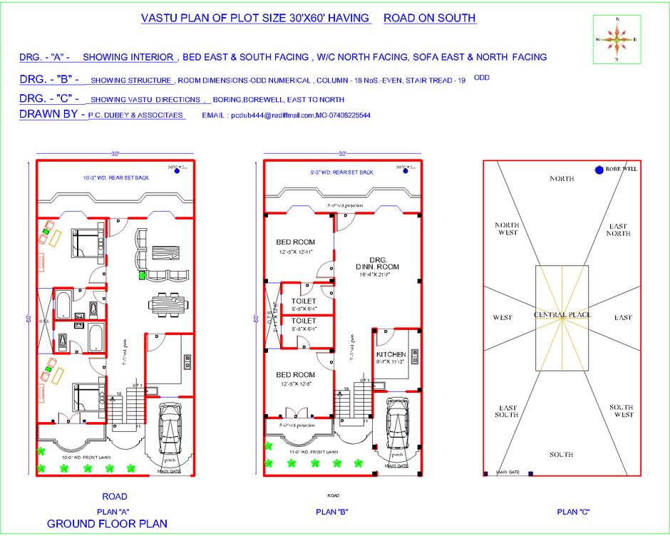 Indian Vastu Plans Indian House Plans South Facing House Vastu House