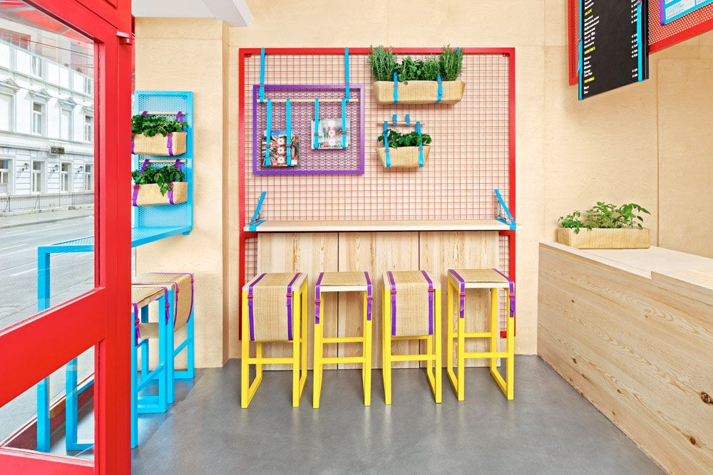 Small restaurant interior design 3 | Restaurant - Fast Food ...