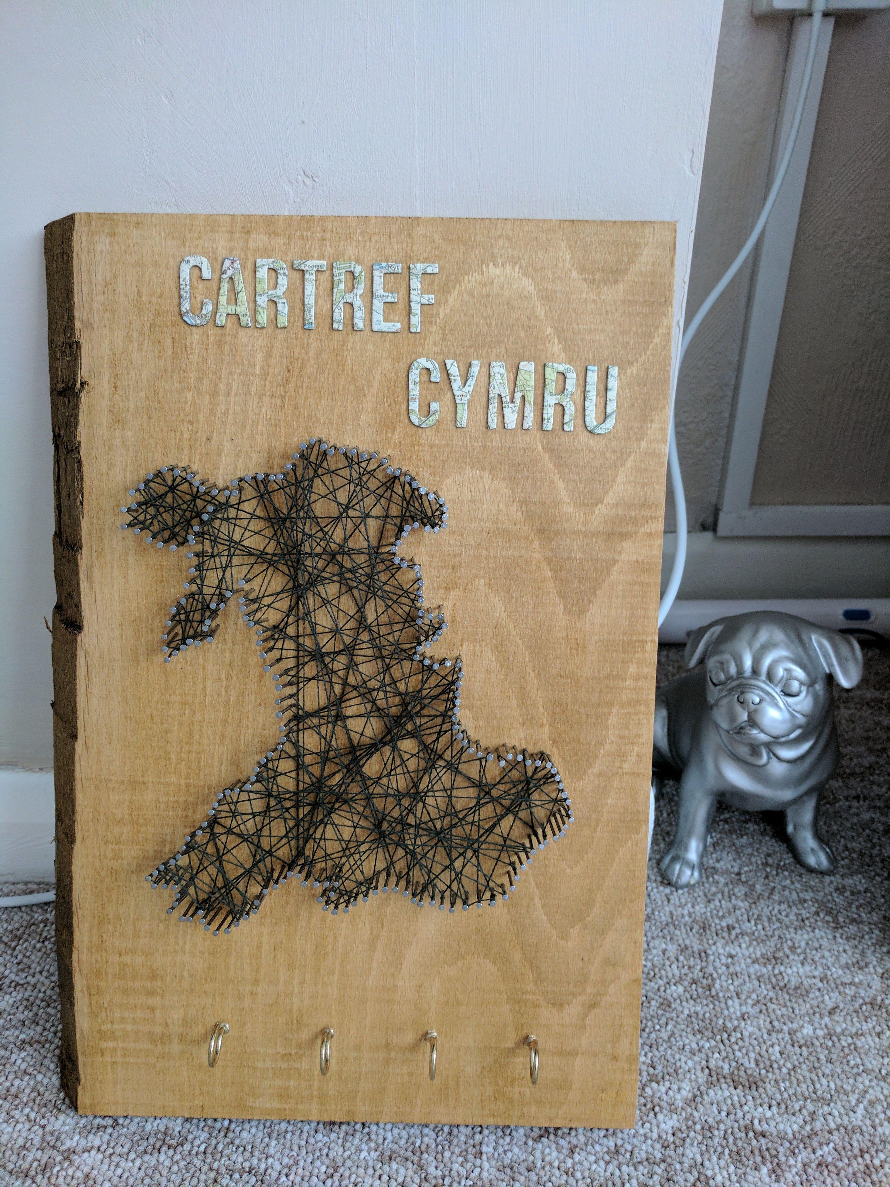 Blog Welsh String Art Key Holder Http Ift Tt 2pz5rah Article