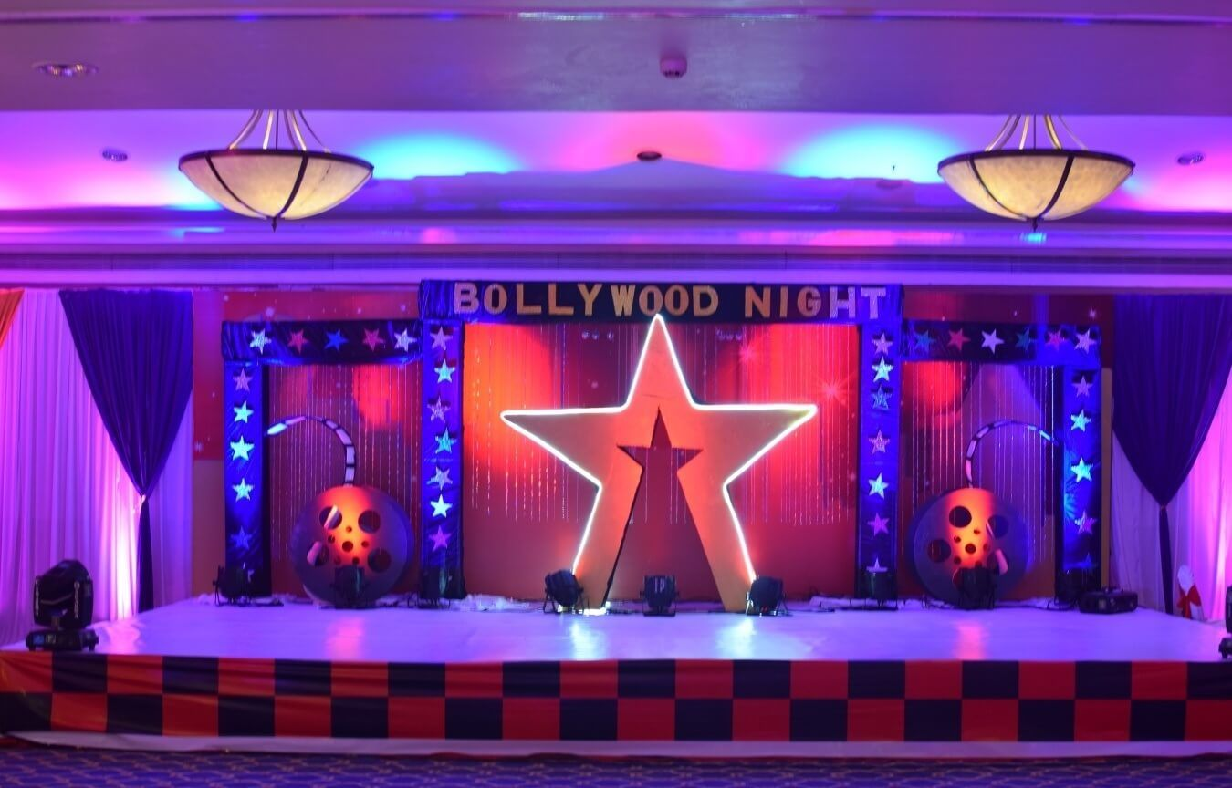 Bollywood theme backdrop google search bollywood for Indoor diwali decoration