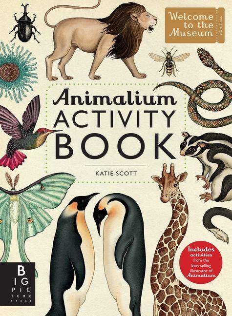 Animalium Activity Book Book Activities Books Animal Books