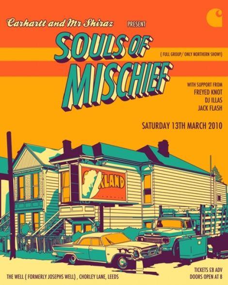 hip hop poster 118  souls of mischief
