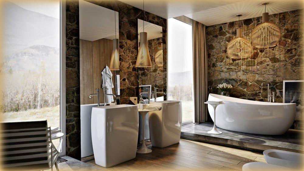 Boiserie Bagno Moderno : Boiserie c bagno moderno sofisticato retrò green design