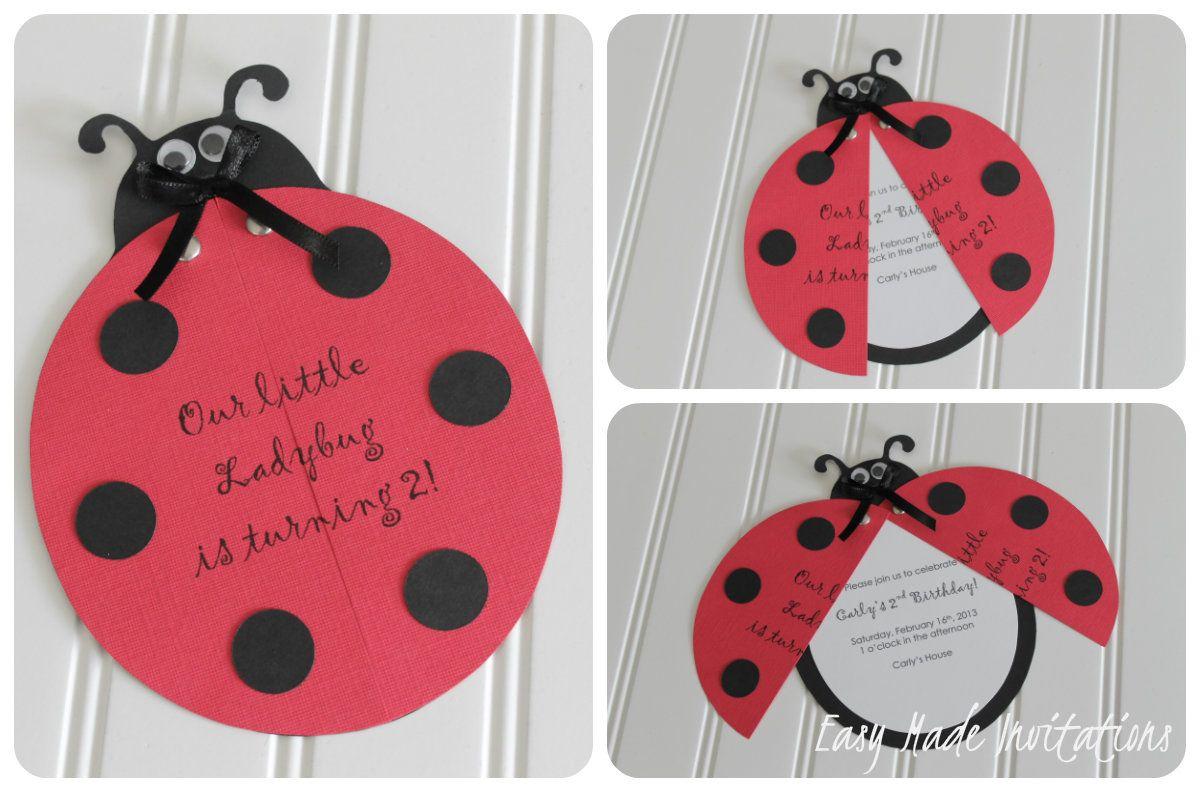 handmade birthday invitations - Google Search | Invitation ...