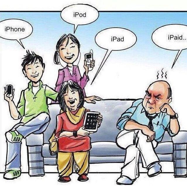 Hehe thanks Dad ; )