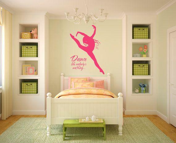 Removable Wall Vinyl - Dance Like Nobody\'s Watching   Chloe\'s room ...