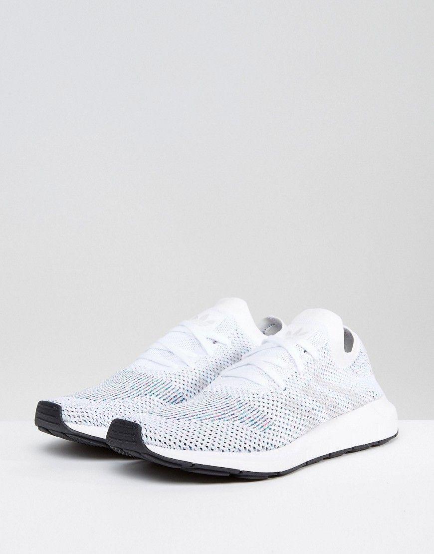 adidas Originals Swift Run Primeknit CG4126 Sneakers In Hvid CG4126 Primeknit 22d687
