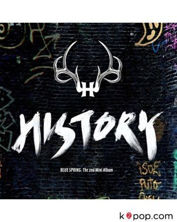 히스토리 (HISTORY) - BLUE SPRING (미니앨범) (HISTORY - BLUE SPRING (2ND MINI ALBUM) + POSTER IN TUBE