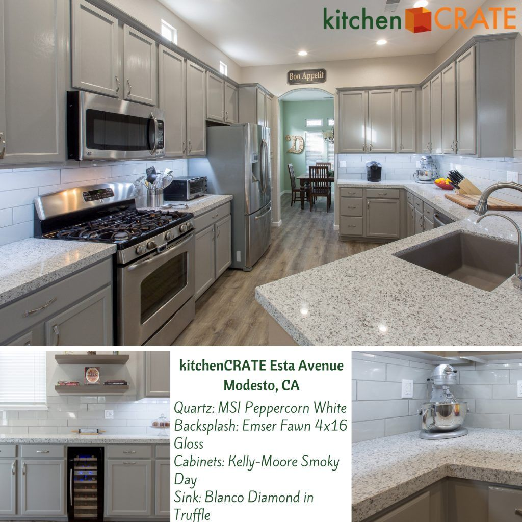 Kitchen Remodel Near Modesto Kitchencrate Esta Avenue Completed