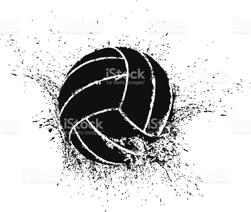 Vector Illustration Of A Volleyball Shattering Transparent Png Pallavolo Loghi Sfondi