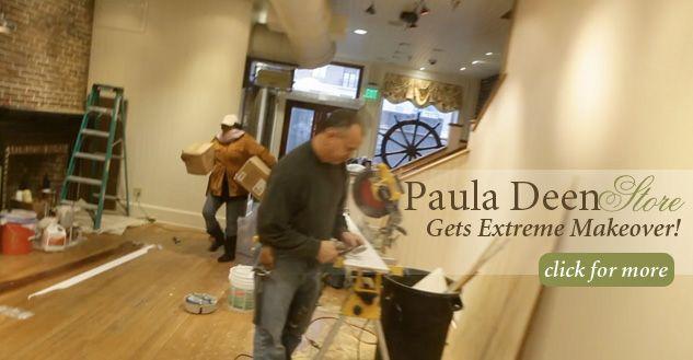 The Paula Deen Store Gets an Extreme Makeover on PaulaDeen.com