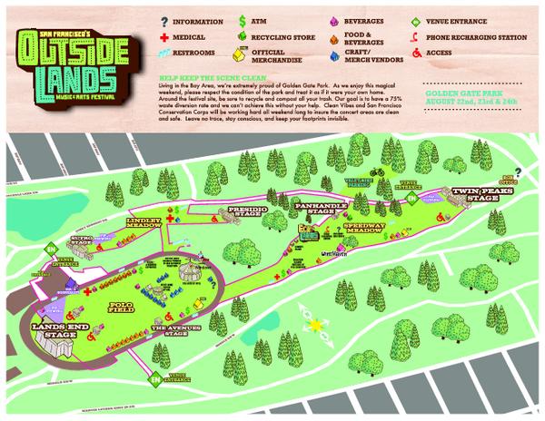 Outside Lands Music Festival Art festival