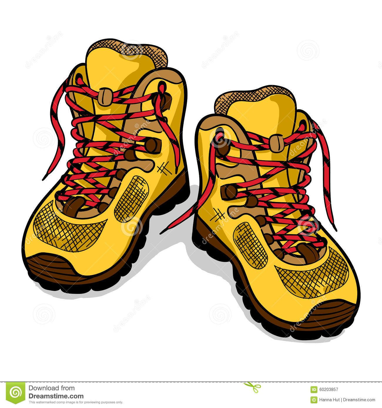Image Result For Hiking Boots Clip Art Development Hiking Boots