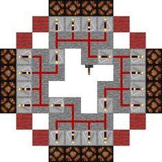 Minecraft Lighthouse Plans Minecraft Lighthouse Circuit Minecraft Lighthouse Minecraft Redstone Minecraft Designs