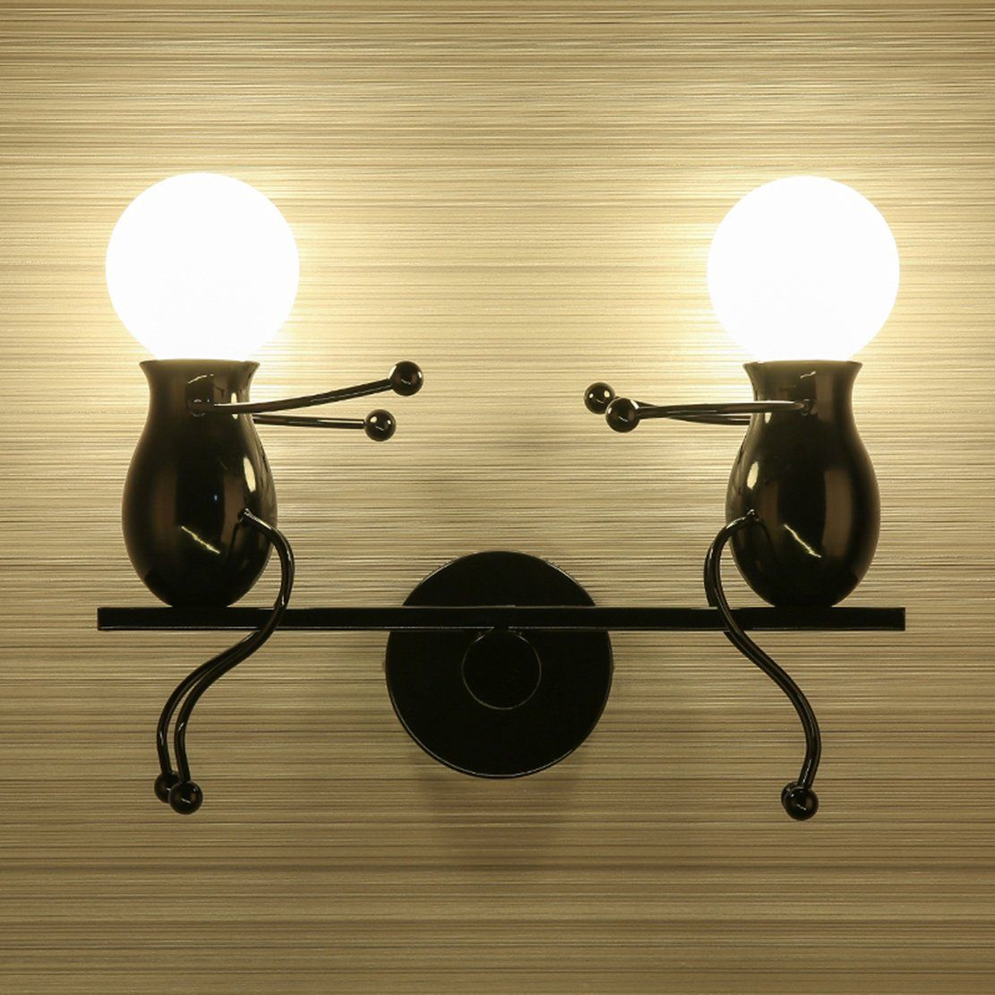 southpo led wall light fixtures childhood seesaw double little people wall lamps bedroom modern creative decor d lamp indoor sconce lighting wall lamps bedroom