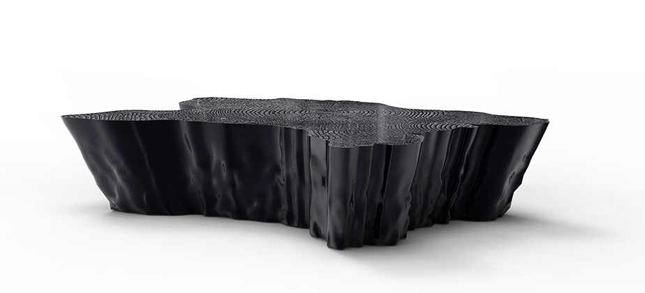 EDEN BLACK | Center Table By Boca Do Lobo