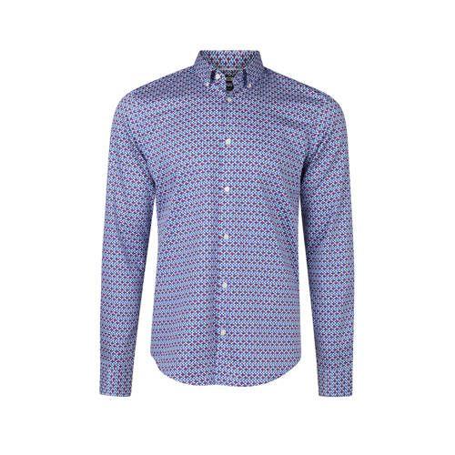 We Overhemd Slim Fit.We Fashion Slim Fit Overhemd Met Print Blauw In 2019 Products