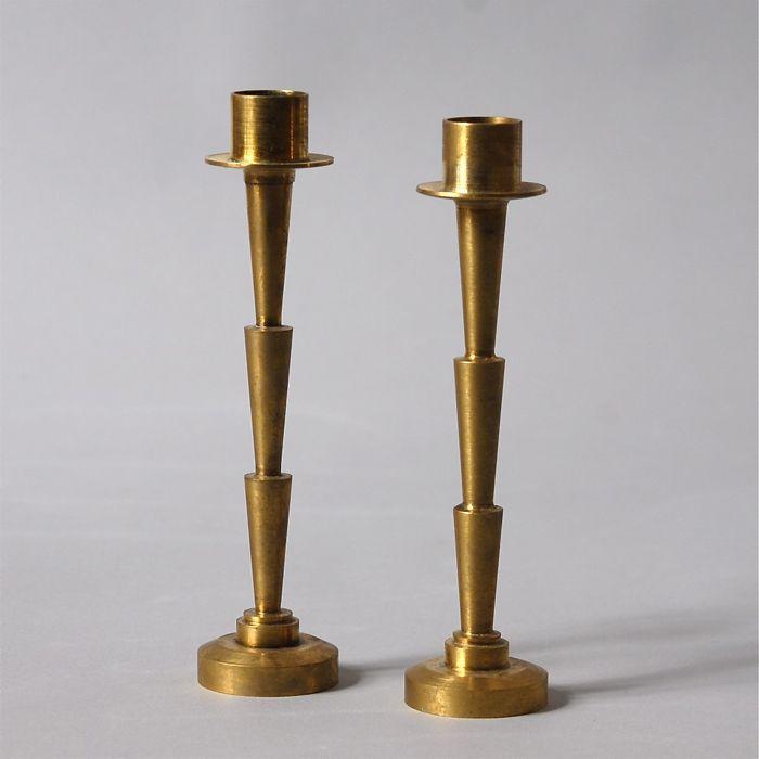 Art Deco candlesticks | Modern Tribute