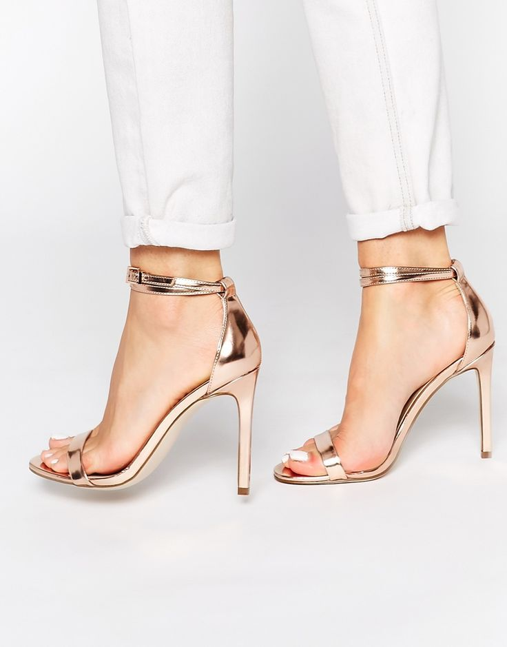 ASOS HOAXER Heeled Sandals (wear these with your neutrals ...