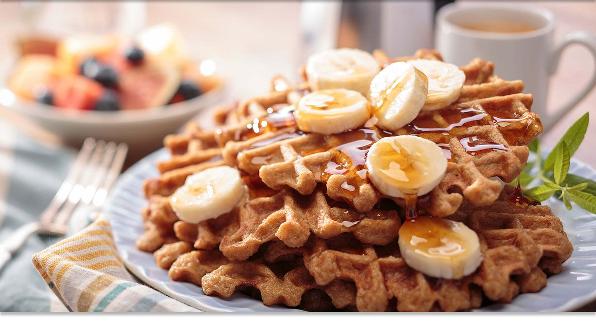 Gluten Free Banana Rice Waffles   Recipe   Food, Gluten ...
