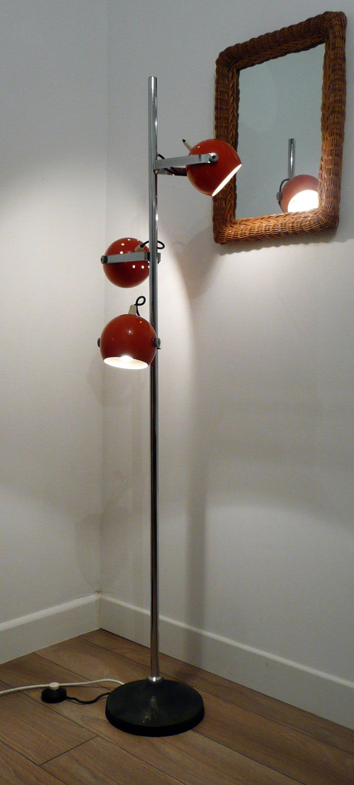 v comme vintage lampadaire