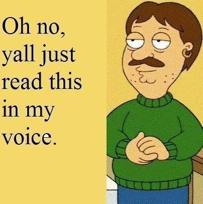 Family Guy. Hahaha I did.