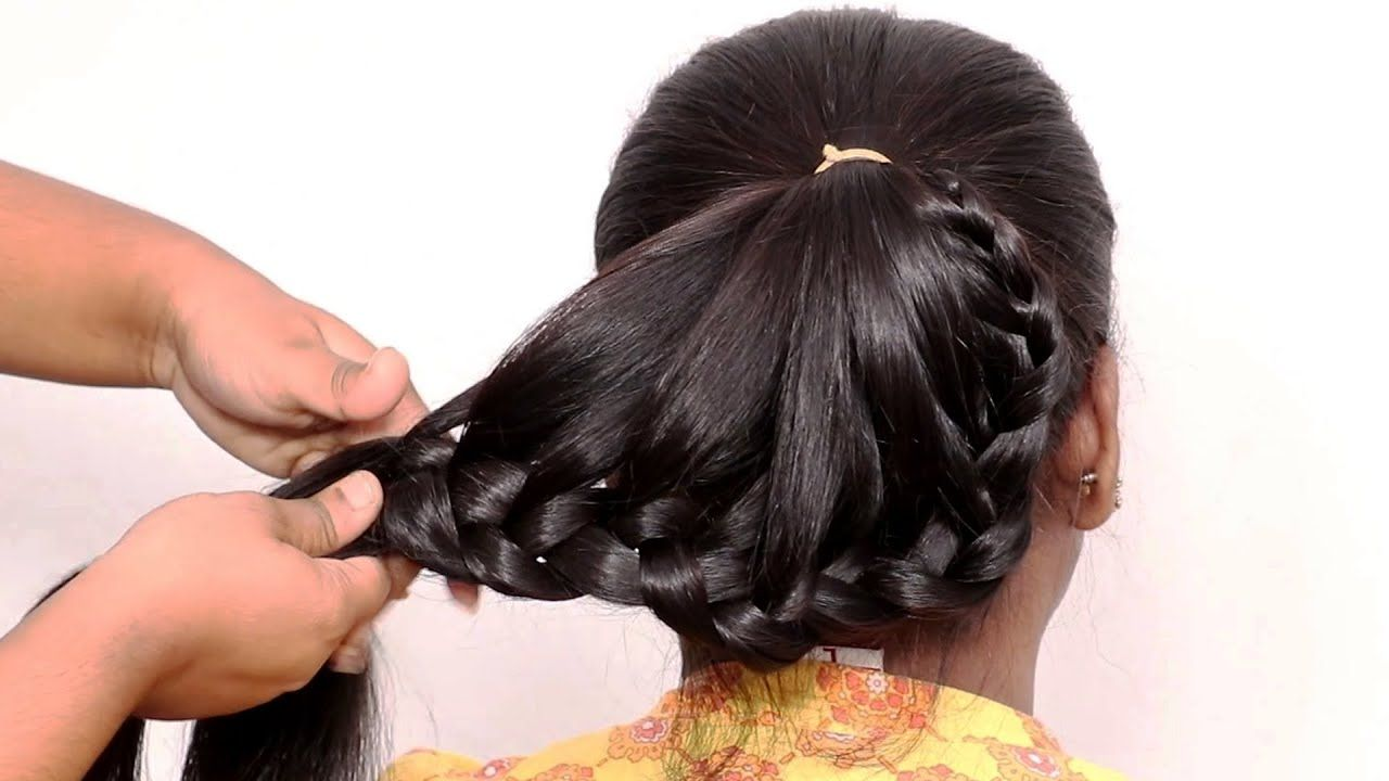 Amazing Hairstyles Tricks And Hacks Wedding Hairstyle For Medium To Lo Long Hair Tutorial Cool Hairstyles Hair Tutorial