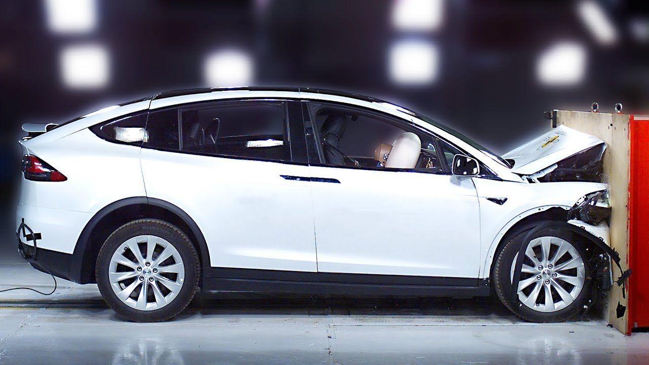 Tesla Model X crash test Safest SUV 2020 in 2020 Tesla