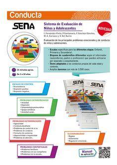 Más información sobre el SENA --> http://web.teaediciones.com/SENA-Sistema-de-Evaluacion-de-Ninos-y-Adolescentes.aspx