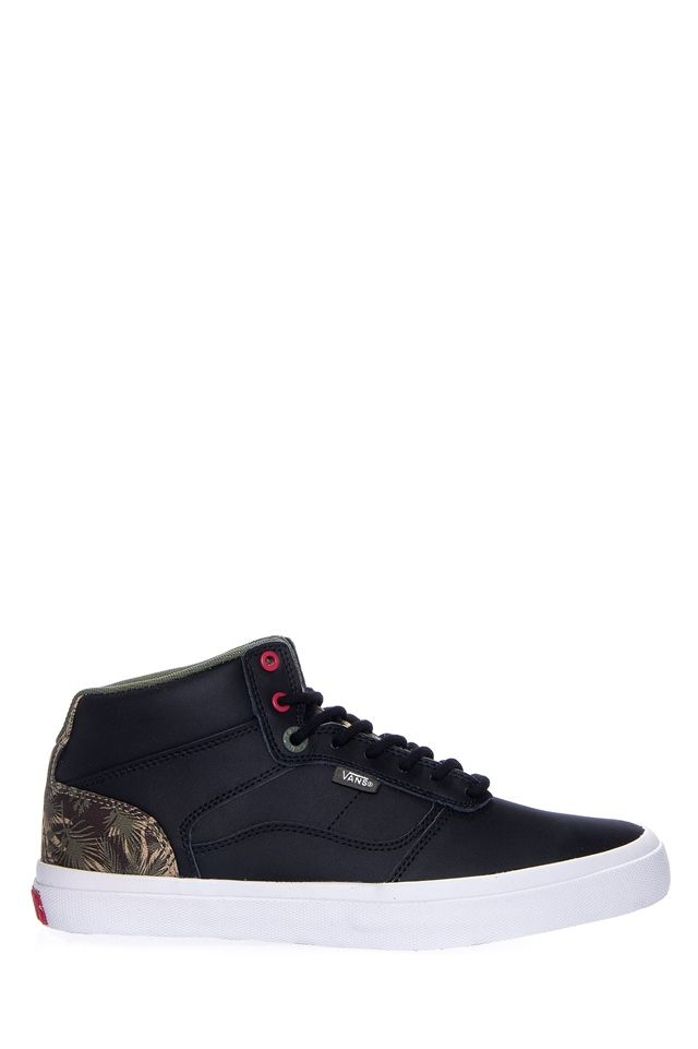 5979558602c38 OTW - Vans - Men's Bedford Palm Camo Mid Top Sneaker - Black White ...