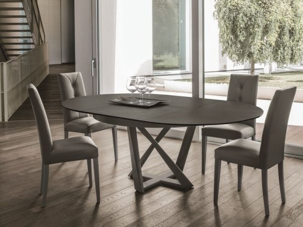 Target Point Cronos Ceramic And Metal Extending Round Dining
