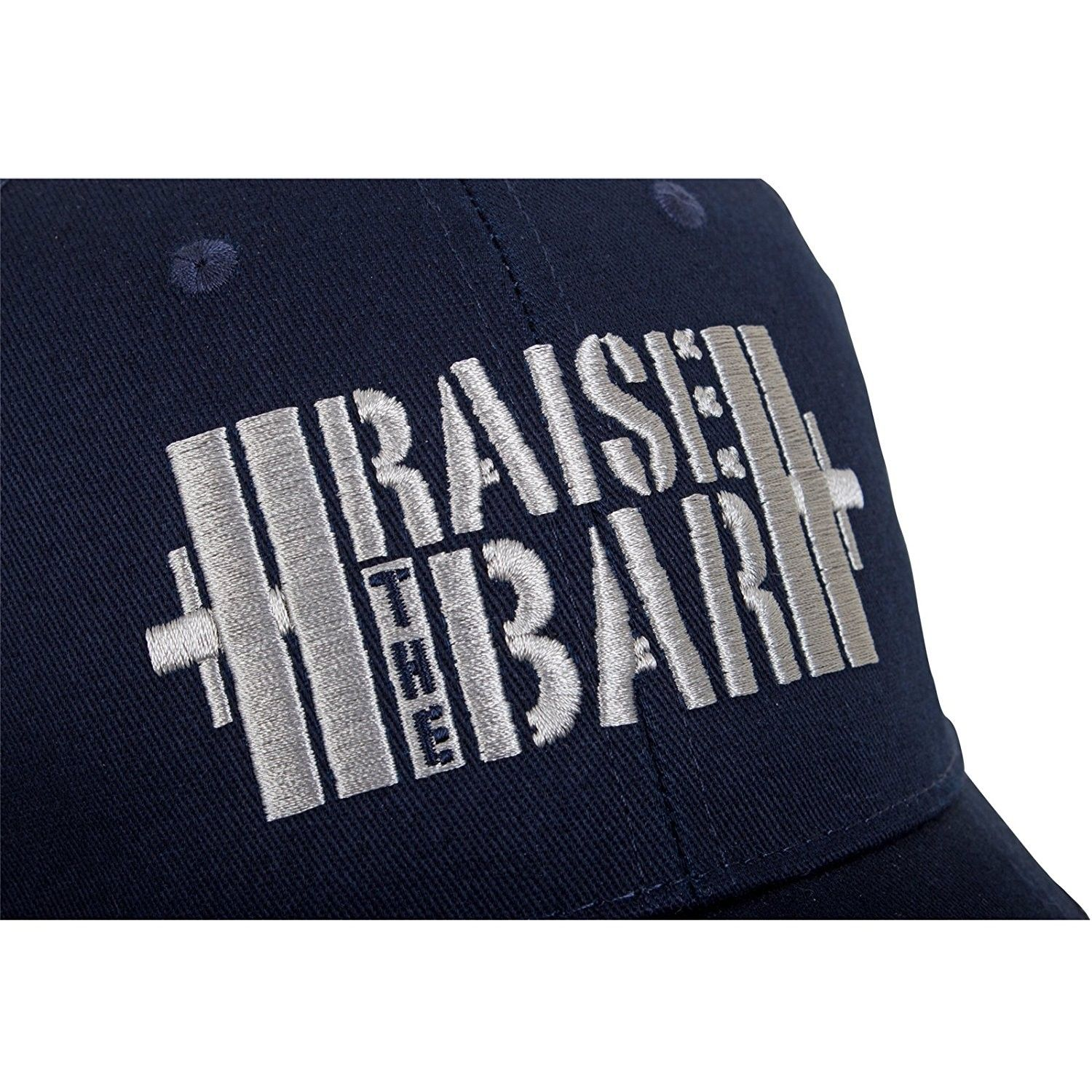 4711939f38227 Raise the Bar Barbell Weightlifting - Blue - Curved Bill Snapback ...