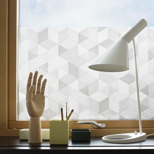 Selbstklebende Fenster Sichtschutzfolie Schicke Fensterdeko Bad