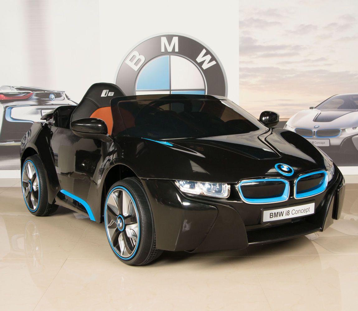 BMW I8 12V Ride On Kids Battery Power Wheels Car RC Remote