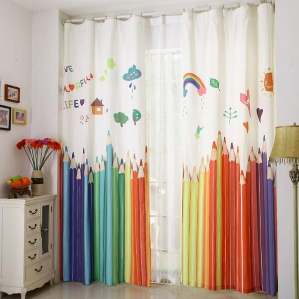 New Window Curtains For Living Room Luxurious Sheer Curtains For Bedroom 3d  Curtains For Kid Room Den Curtains For Children