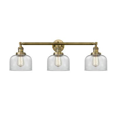 Williston Forge Aragon Bell 3 Light Vanity Light Vanity Lighting Vanity Light Shade Vintage Led Bulbs
