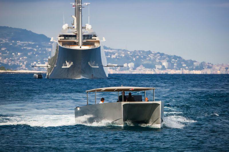 Sailing Yacht A >> Sailing Yacht A Tender Sya 4 Boat Design Sailing