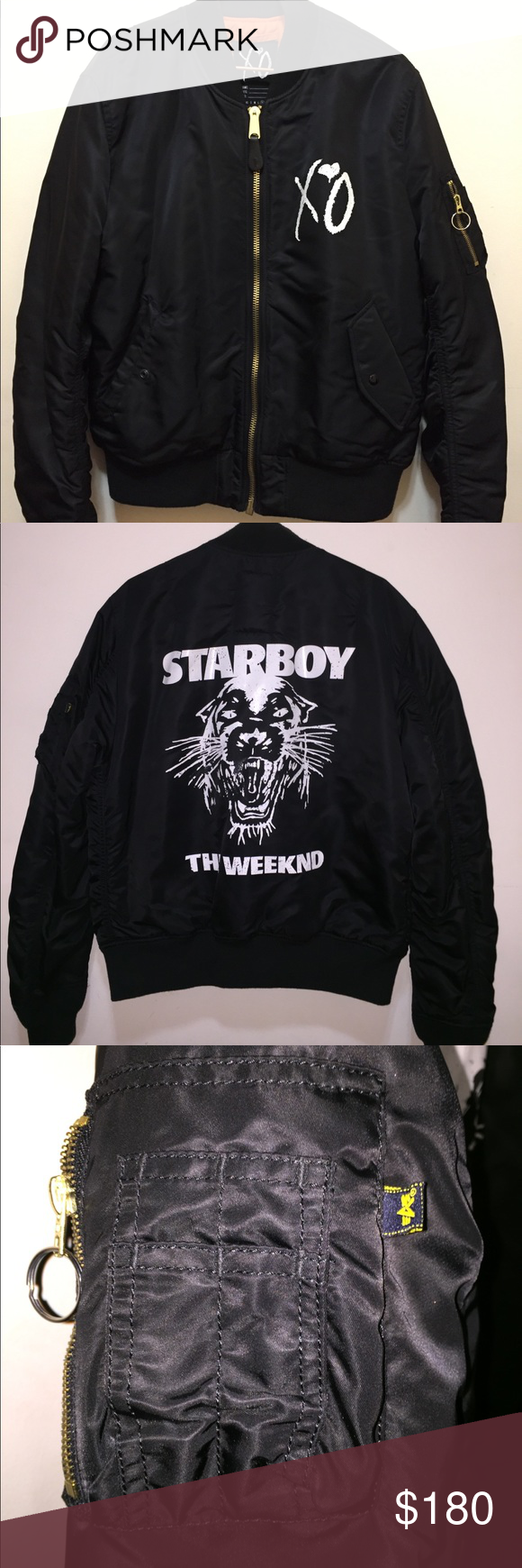 Xo Starboy Panther Bomber Jacket The Weeknd Xl Bomber Jacket Jackets Puma Jackets [ 1740 x 580 Pixel ]